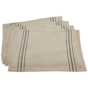 Saro Lifestyle Everyday Linen Placemat (Set of 4), , large
