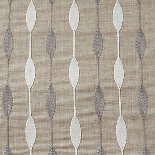 Saro Lifestyle Embroidered Design Placemat (Set of 4), Beige, large
