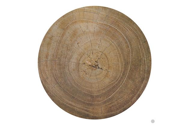 Saro Lifestyle Wood Print Placemat (Set of 4), , large