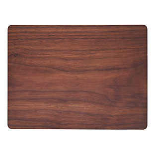 Saro Lifestyle Wood Print Design Placemat (Set of 4), , large