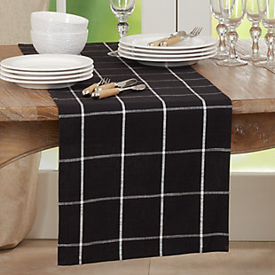 Saro Lifestyle Large Paid Design Long Table Runner, , rollover