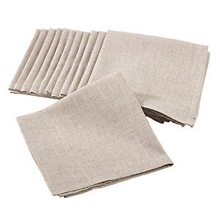 Saro Lifestyle Plain Dinner Napkin (Set of 12), , large
