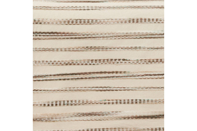 Saro Lifestyle 16x72 Table Runner with Stripe Weave Design, , large