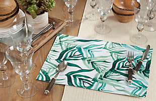Saro Lifestyle Rainforest Design Placemat (Set of 4), , rollover