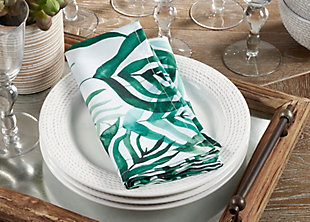 Saro Lifestyle Table Napkin with Rainforest Design (Set of 12), , rollover