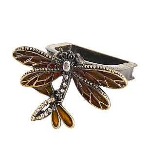 Saro Lifestyle Dragonfly Napkin Ring (Set of 4), , large