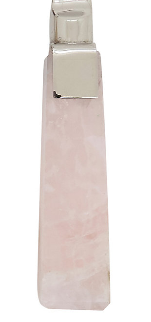 Saro Lifestyle Cheese Cutlery with Rose Quartz Design (Set of 4), , large