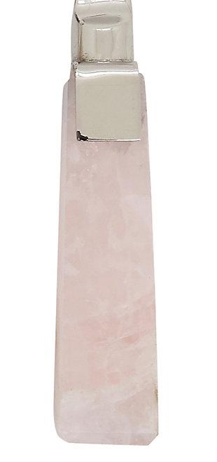Saro Lifestyle Flatware with Rose Quartz Design (Set of 5), , large