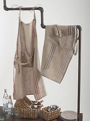 Saro Lifestyle Striped Design Apron, , rollover