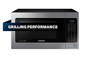 Samsung Appliances 1.1 cu. ft. Counter Top Microwave - Stainless Steel, , rollover