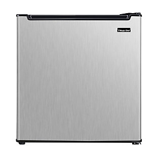 Magic Chef 1.7-Cu. Ft. Mini Refrigerator, Stainless Steel, large