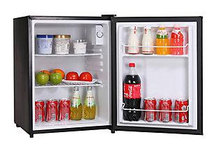 Magic Chef 2.4-Cu. Ft. Mini Refrigerator, Black, rollover