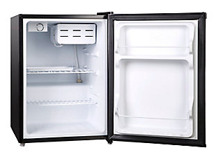 Magic Chef 2.4-Cu. Ft. Mini Refrigerator/Freezer, Black, rollover