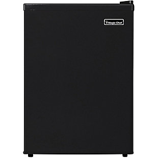 Magic Chef 2.4-Cu. Ft. Mini Refrigerator/Freezer, Black, large