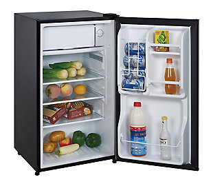 Magic Chef 3.5-Cu. Ft. Compact Refrigerator/Freezer, Black, rollover