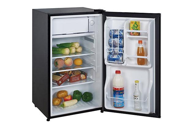 Magic Chef 3.5-Cu. Ft. Compact Refrigerator/Freezer, Black, large