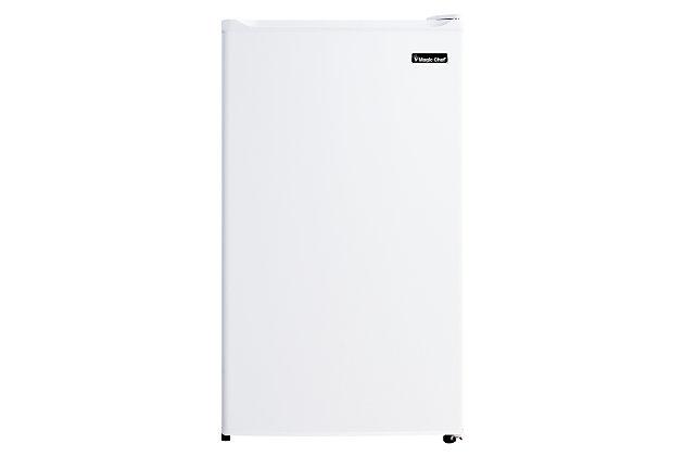 Magic Chef 3.5-Cu. Ft. Compact Refrigerator/Freezer, White, large