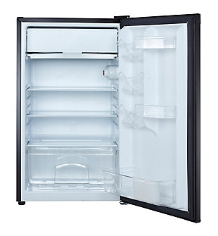 Magic Chef 4.4-Cu. Ft. Compact Refrigerator/Freezer, Black, rollover