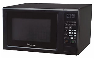 Magic Chef 1.1-Cu. Ft. 1000W Countertop Microwave Oven, Black, rollover