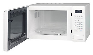 Magic Chef 1.1-Cu. Ft. 1000W Countertop Microwave Oven with Push-Button Door in White, , rollover