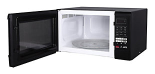 Magic Chef 1.6-Cu. Ft. 1100W Countertop Microwave Oven, Black, rollover