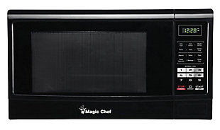Magic Chef 1.6-Cu. Ft. 1100W Countertop Microwave Oven, Black, large