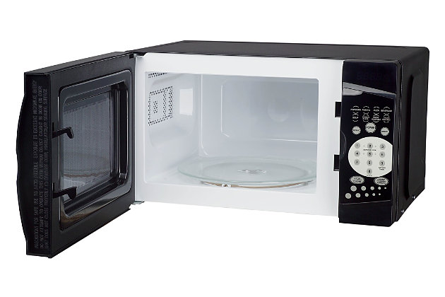 Magic Chef 0.7-Cu. Ft. 700W Countertop Microwave Oven, Black, large