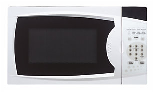 Magic Chef 0.7-Cu. Ft. 700W Countertop Microwave Oven, White, large