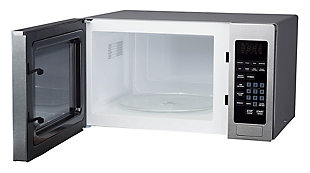 Magic Chef 0.9-Cu. Ft. 900W Countertop Microwave Oven with Stainless Steel Front, , rollover