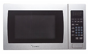 Magic Chef 0.9-Cu. Ft. 900W Countertop Microwave Oven with Stainless Steel Front, , large