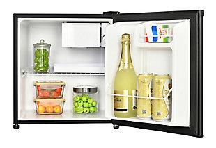 Magic Chef 1.7-Cu. Ft. Mini Refrigerator, Black, large