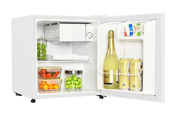 Magic Chef 1.7-Cu. Ft. Mini Refrigerator, White, large