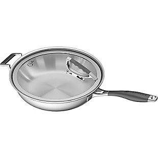 "Cookcraft by Candace Cookcraft by Candace 13"" Tri-Ply French Skillet, , large"