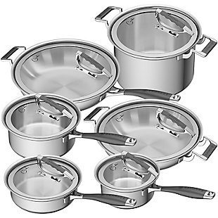 Cookcraft by Candace Cookcraft by Candace 12-Piece Tri-Ply Grand Cookware Set, , large