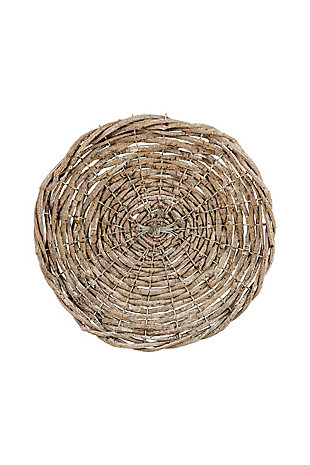 Rustic Gray Twig Charger- Set of 4, , large
