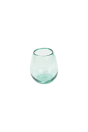 Clear Stemless Wine Glass - Set of 6, , large