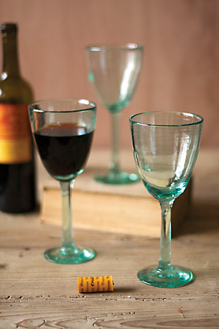 Recycled Wine Glass - Box of 6, , rollover