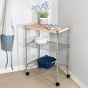 Syndey Mini 3 Tier Dining Cart, , rollover