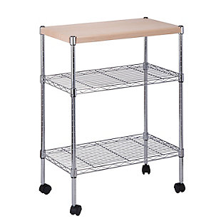 Syndey Mini 3 Tier Dining Cart, , large