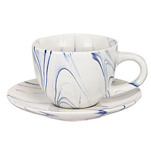 AB HOME Artist Fare Cup and Saucer, , large