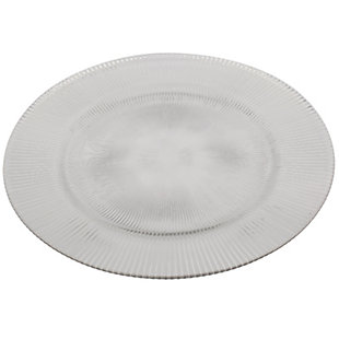 """AB HOME 13"""" Glass Charger, , large"""