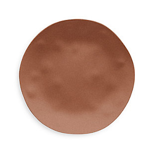 Tarhong Planta Matte Terra Cotta Dinner Plate (Set of 6), , large