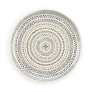 Tarhong Desert Mandala Dinner Plate (Set of 6), , large