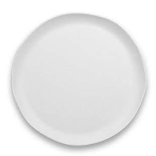 "Tarhong 14"" Matte Craft Coupe Round Platter, , rollover"