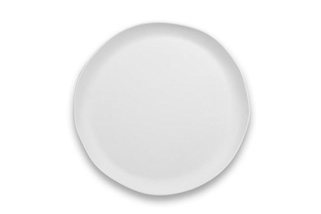 """Tarhong 14"""" Matte Craft Coupe Round Platter, , large"""