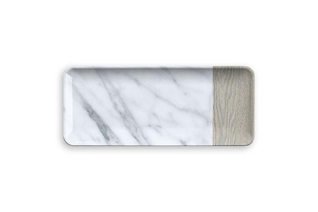Tarhong Carrara and French Oak Platter, , large