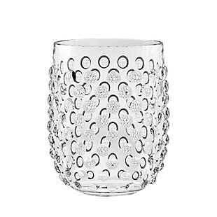 Tarhong 15 oz. Hobnail Stemless Acrylic Glass (Set of 6), , rollover