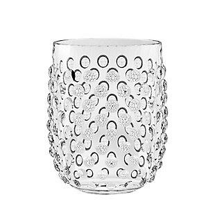 Tarhong 15 oz. Hobnail Stemless Acrylic Glass (Set of 6), , large