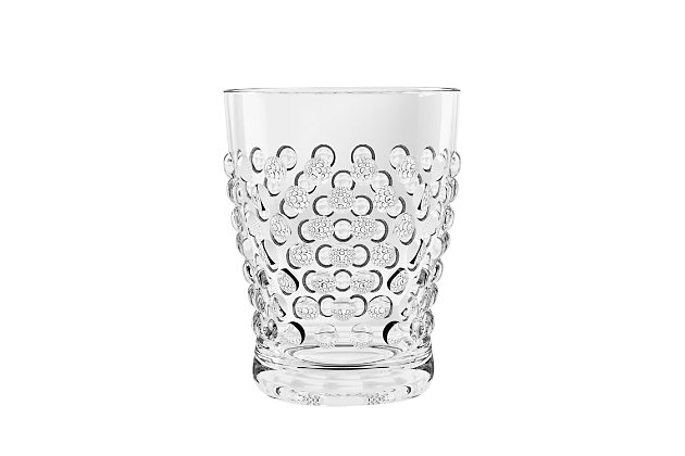 Tarhong 14 oz. Hobnail DOF Acrylic Glass (Set of 6), , large