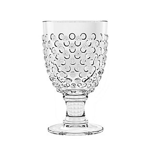 Tarhong 17 oz Hobnail Goble Acrylic Glass (Set of 6), , large